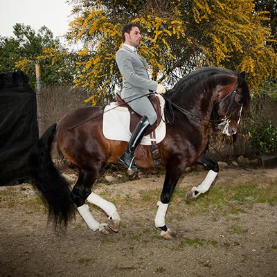 Alejandro Barrionuevo maestro de la equitación artística