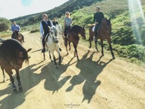 Ruta a caballo por Alhaurín