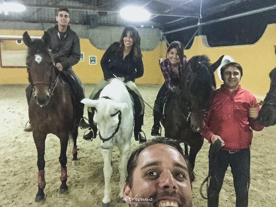 Aprender a montar a caballo 2