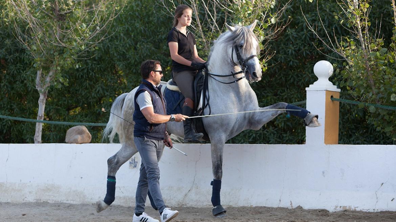 Prácticas de equitación