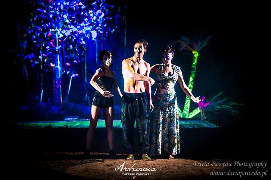 Espectaculares obras de teatro ecuestres de KALAZAGAN 15