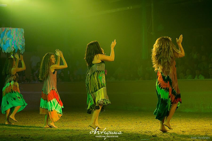 Espectaculares obras de teatro ecuestres de KALAZAGAN 6