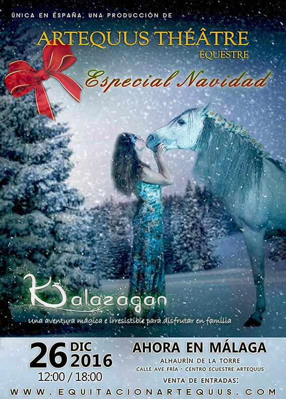 Espectaculares obras de teatro ecuestres de navidad