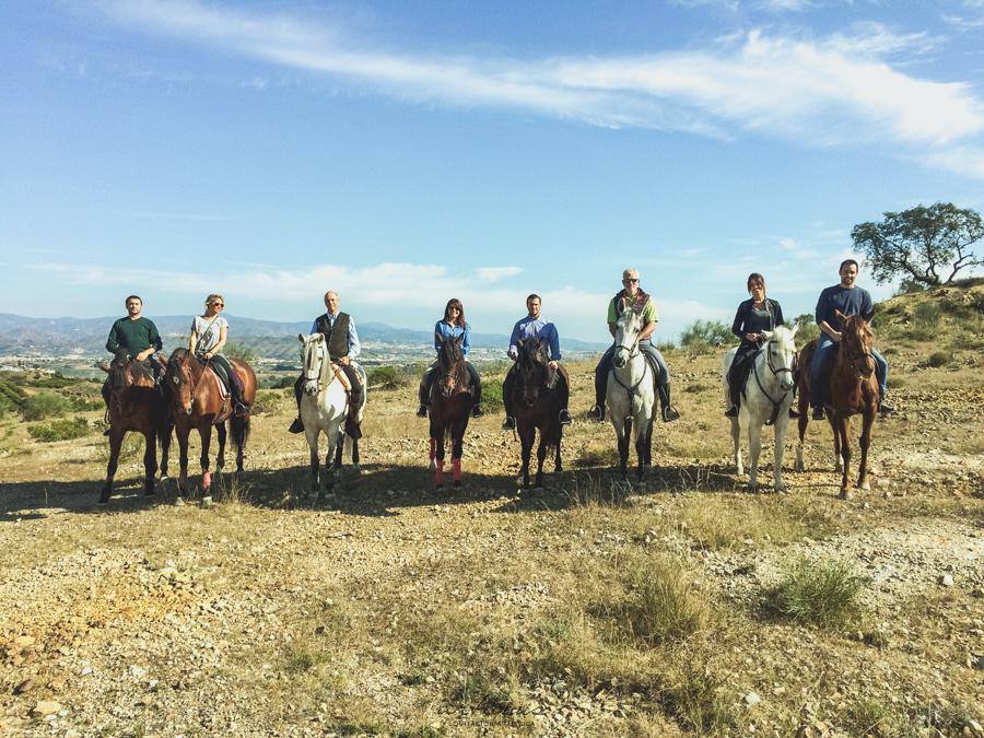 Ruta a caballo por Alhaurín 2