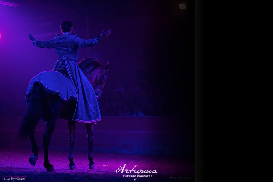 Espectaculares obras de teatro ecuestres de KALAZAGAN 17