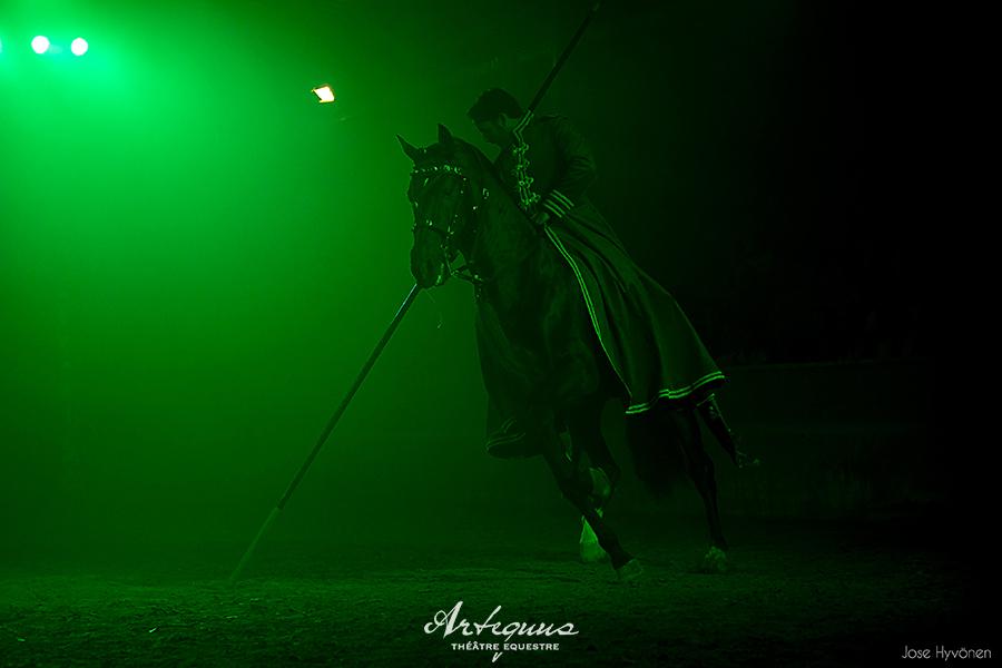 Espectaculares obras de teatro ecuestres de KALAZAGAN 11