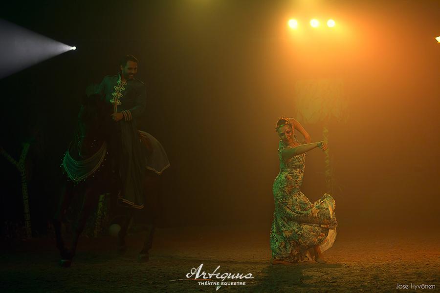 Espectaculares obras de teatro ecuestres de KALAZAGAN 8