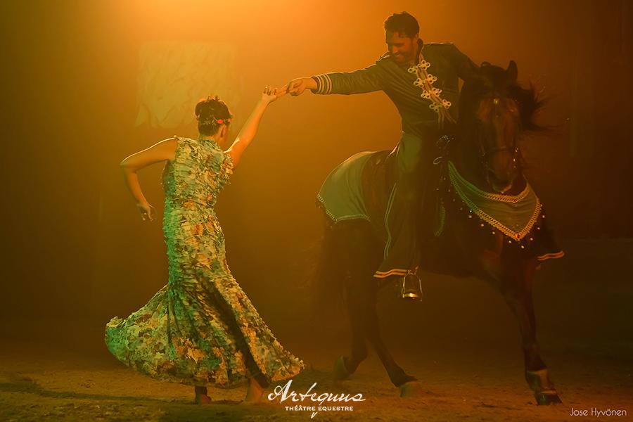 Espectaculares obras de teatro ecuestres de KALAZAGAN 7